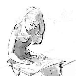 Dibujando!