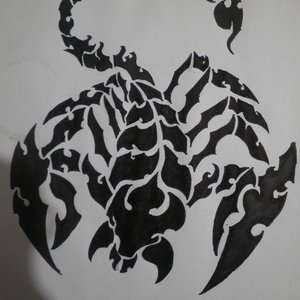 Tatuaje de escorpion