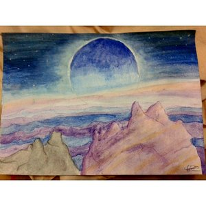 Otro planeta, otra Luna.