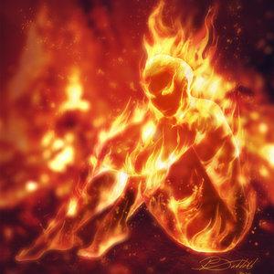 Como pintar con fuego un cuerpo en Photoshop
