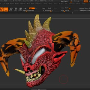 Zbrush proyect