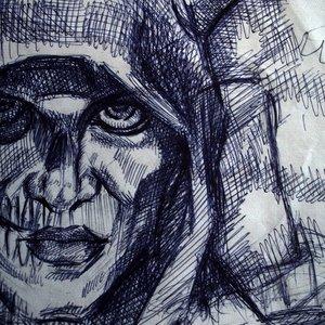 Sketch Hombre demonio