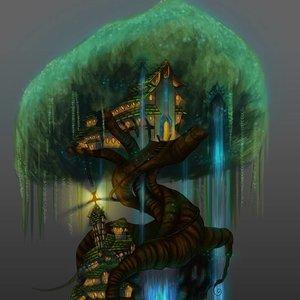 Otro antiguo- Villa árbol