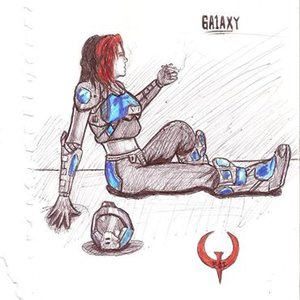quake 3 arena fan art (crash galaxy)