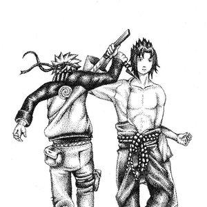 naruto_vs_sasuke_puntillismofan_art_74387.JPG