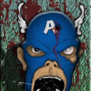 Capitan America Zombie