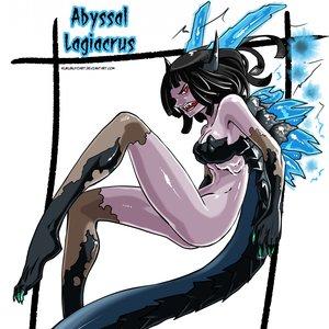 Female version: Lagiacrus abisal