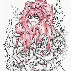 La princesa en rojo