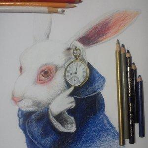 conejo blanco (alicia en el pais de las maravillas)