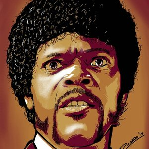 Samuel L. Jackson (Pulp Fiction Fan art)