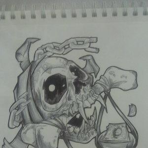 Skull & Money