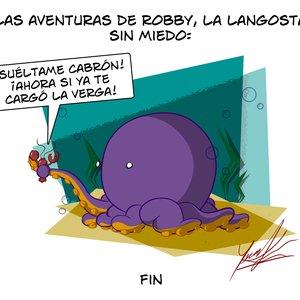 Las aventuras de Robby, la langosta sin miedo.