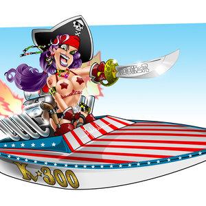 Pirata Pinup