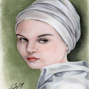 chica turbante