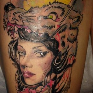 She wolf Tattoo