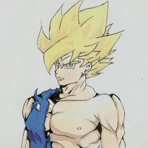 Goku el super sayajin
