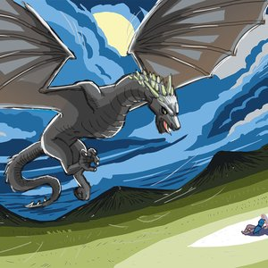Dragon of Game of Thrones!