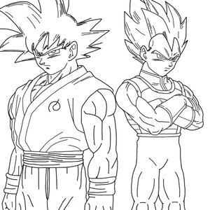 goku_and_vegeta_fukkatsu_no_f__lineart__by_eymsmiley_d8788ai_233722.png