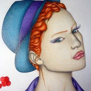 La chica del sombrero