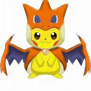 pikachu cosplay XD