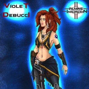 Violet Debucci model Almas the comic