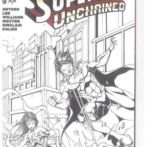 BLANK COVER SUPERMAN