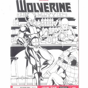 BLANK COVER WOLVERINE