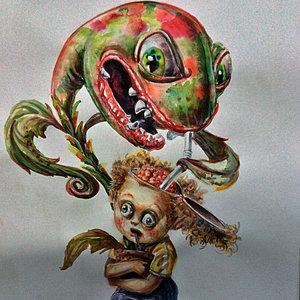 simbiosis planta zombie