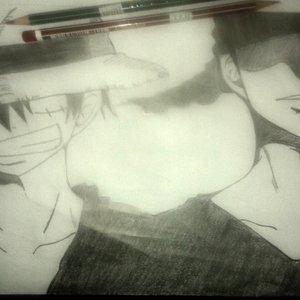 Luffy y Zoro..