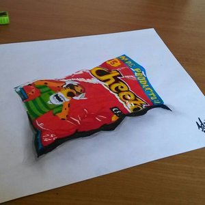 Cheetos (hiperrealistic)