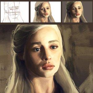 Retrato de Daenerys Targaryen