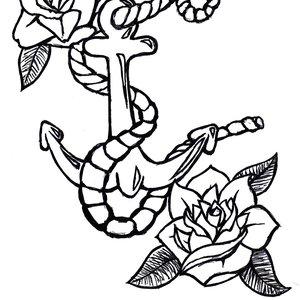 Old School tattoo style