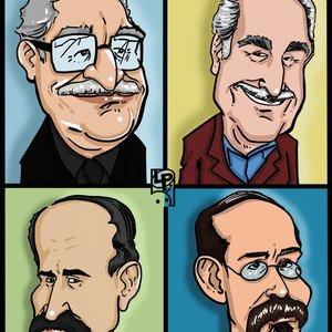 Caricaturas de escritores Colombianos