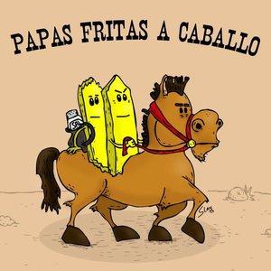 Papas fritas a caballo