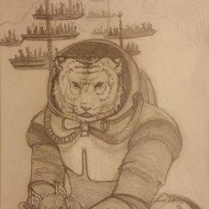 Sketch tigre