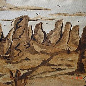 Paisaje de desierto