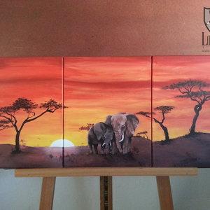 Tríptico África