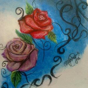 Rosas y líneas