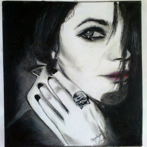Cristina Scabbia (Retrato Fan Art)