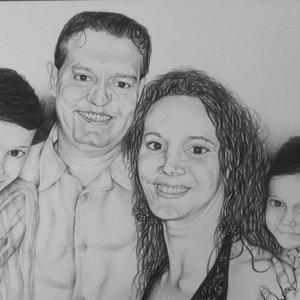 David y su familia