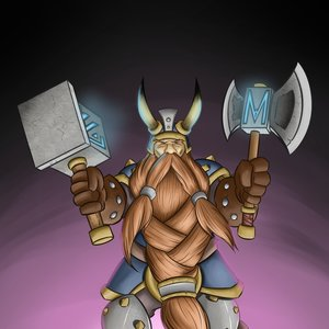 MURADIN BRONZEBEARD - FAN ART