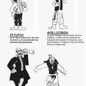 Los piratillas caribeños