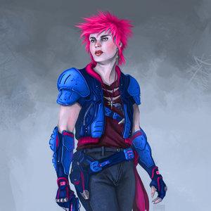Pink & Blue Neon