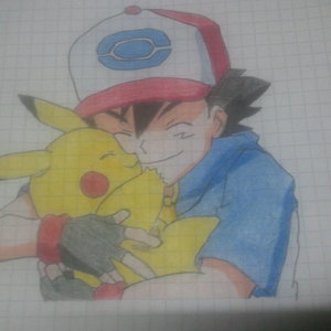 Ash y Pikachu