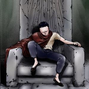 Tetsuo-Akira (color sobre diseño original)