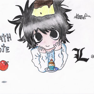 L.Lawliet Kawaii (Death Note)