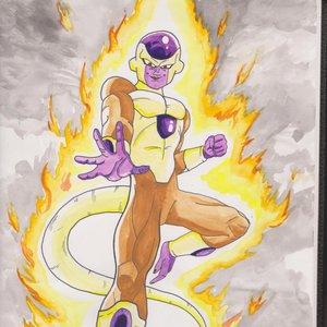 Dragon ball Z Frezeer GOLDEN Pelicula Fukkatsu no F