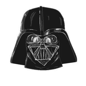 Darth Vader aburrimiento Paint