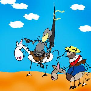 Quijote & Sancho