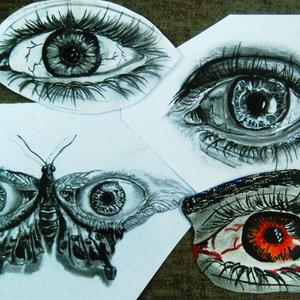 mi progreso  de ojos....
